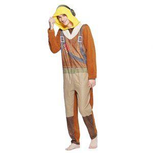 NEW Fortnite Raptor Union Suit Pajama Costume